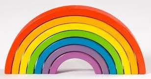 paint colour rainbow