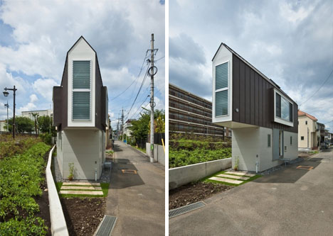 triangular-japanese-house