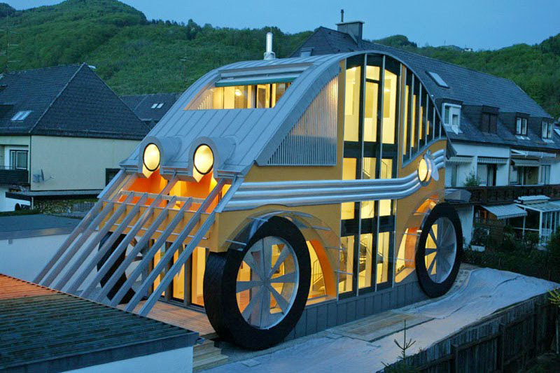 VW Beetle House 2