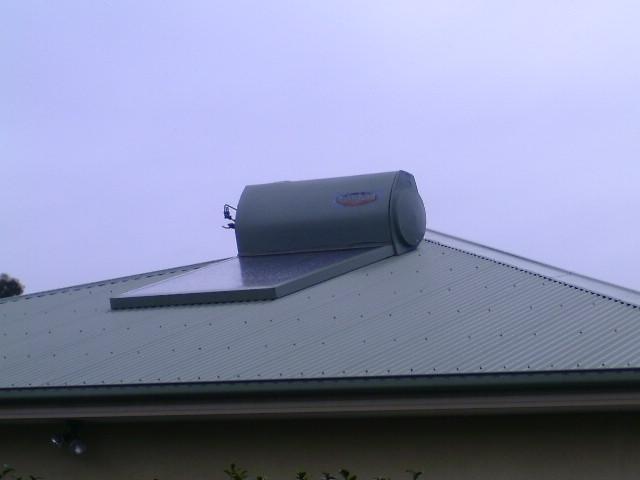West Facing Solar Hot Water System?