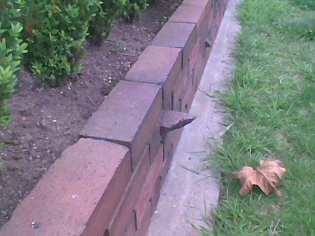 Reject Brick - Fail