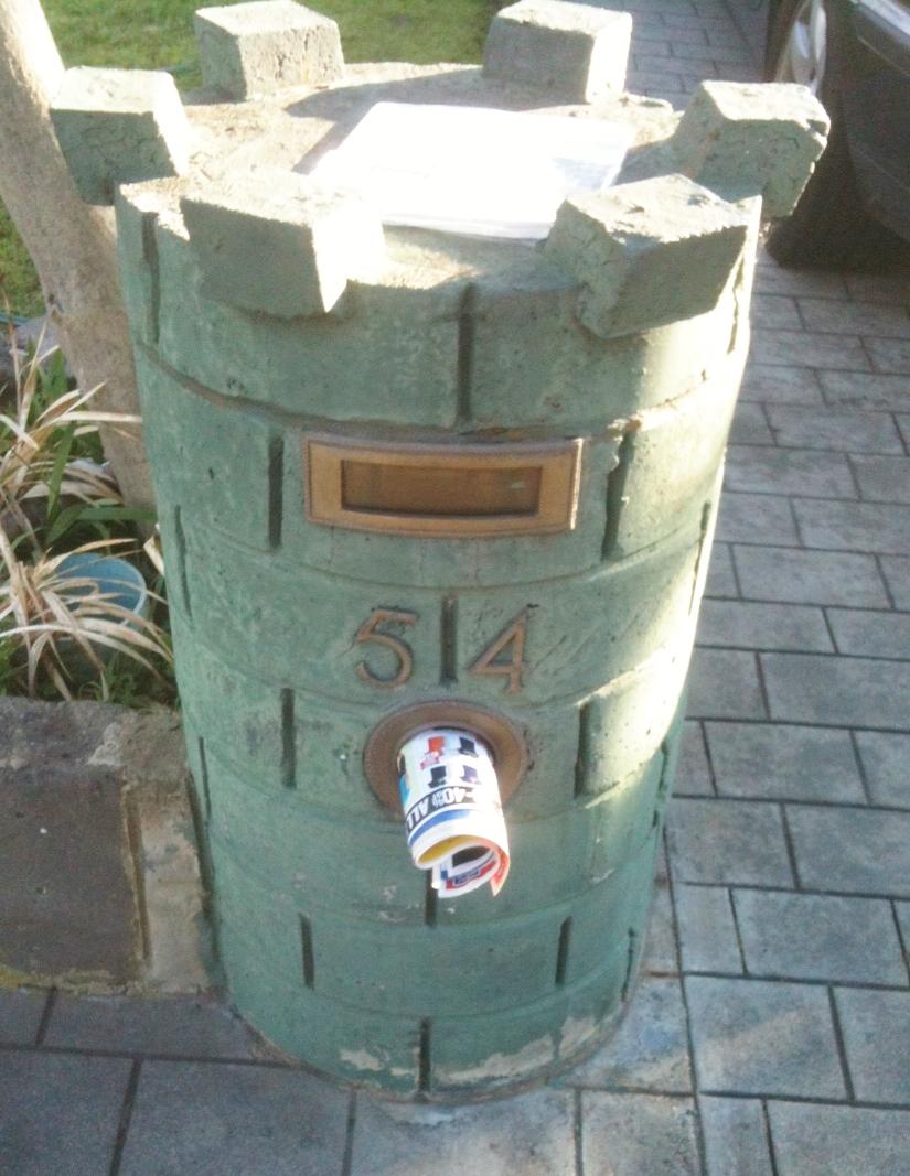 Castle Letter box