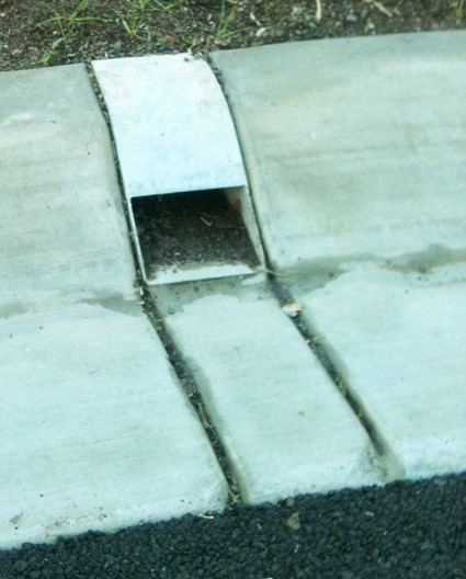 Stormwater Outlet - kerb