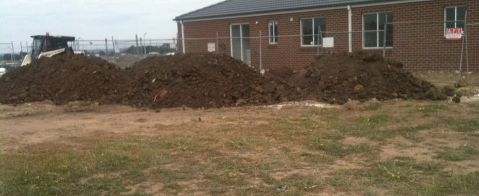Dumping on Block