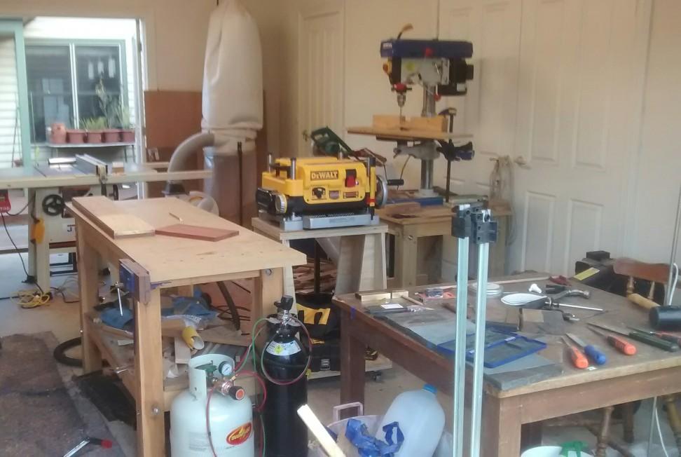 Garage – Planning a Workshop