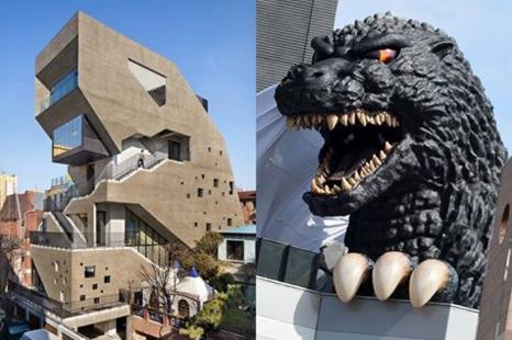 Godzilla Building
