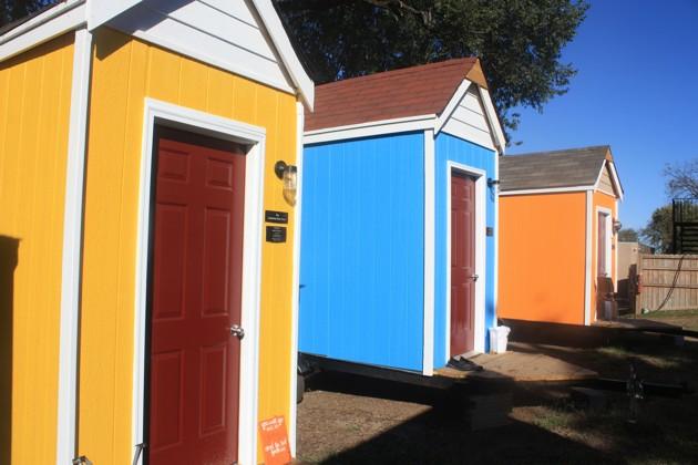 Homes for the homeless