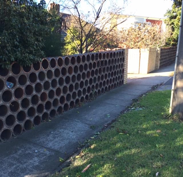 Interesting Fence