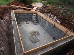 Pool Before, Or After House – A New House