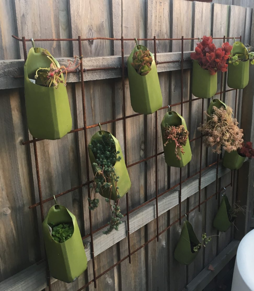 Low Cost Vertical Garden